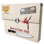 University Games Murder Mystery Party - Death by Chef's Knife