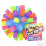 Light-Up Rainbow Spiky Ball
