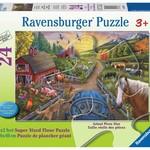 Ravensburger My First Farm - Floor Puzzle 24 pc