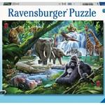 Ravensburger Jungle Families - 100 pc