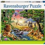 Ravensburger Evening at the Waterhole - 300 pc
