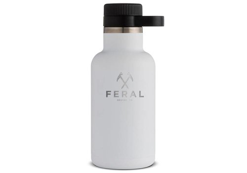 FERAL Hydro Flask 64oz Wide Mouth Beer Growler
