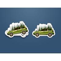 FERAL Adventure Car Sticker