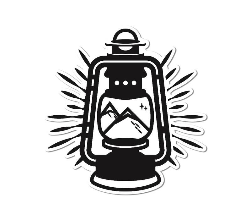 FERAL Lantern Sticker