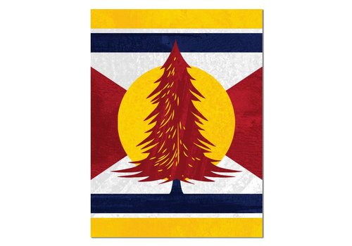 FERAL FERAL Colorado Tree Sticker