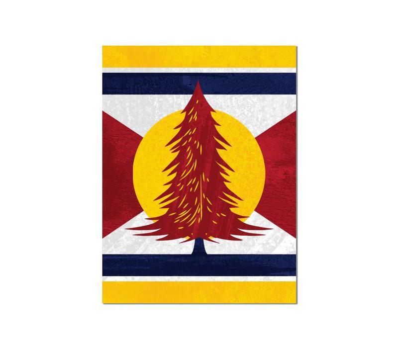 FERAL Colorado Tree Sticker
