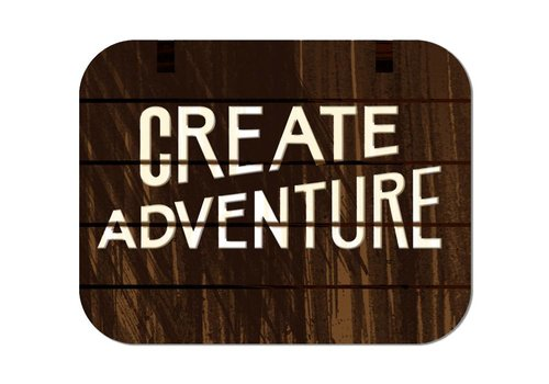 FERAL FERAL Create Adventure Sticker