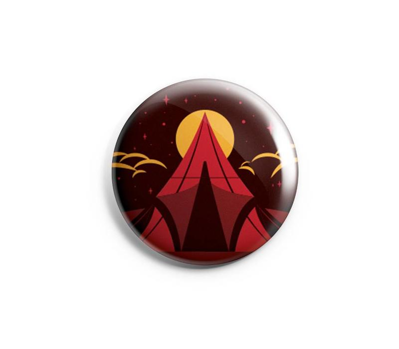 FERAL Tent Button