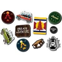 FERAL Sticker 10-Pack