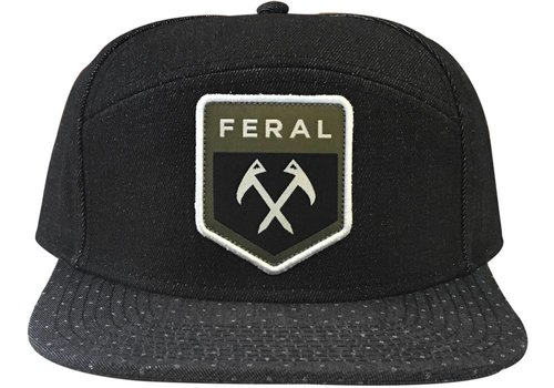 FERAL FERAL Five Panel Patch Hat