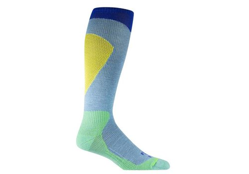 Farm To Feet Little Cottonwood Lightweight Over-The-Calf Ski Socks