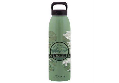 Liberty Bottleworks Topo Water Bottle Mt. Rainier 24 oz.