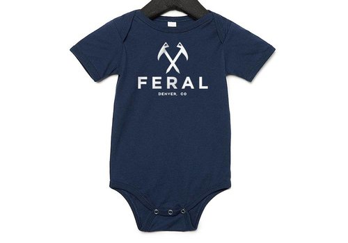 FERAL FERAL Baby Onesies