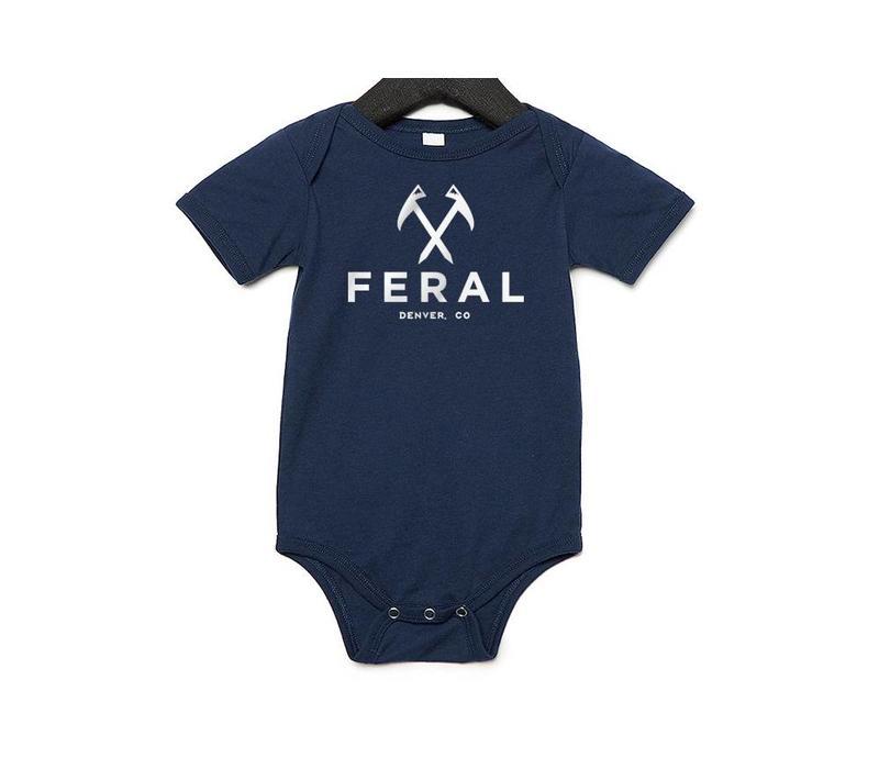 FERAL Baby Onesies