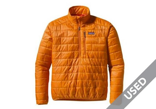 Patagonia Nano Puff Pullover Orange Small USED