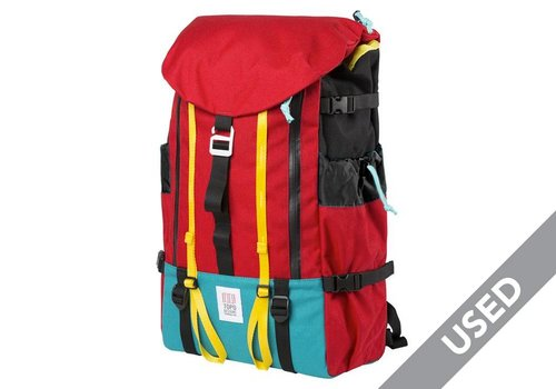 Topo Designs Mountain Pack Red USED