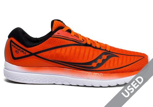 Saucony Men's Kinvara 10 Orange Size 10 USED