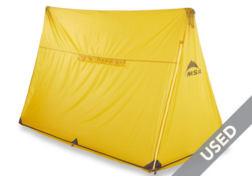 MSR E-House 2 Person Shelter Yellow USED