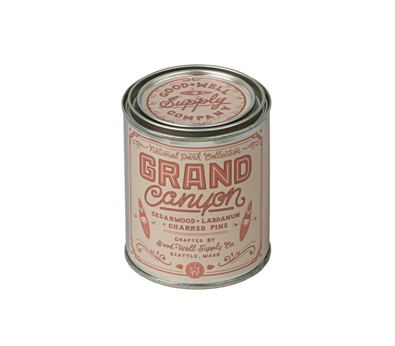 Good & Well Supply Co. National Park 1/2 Pint Candle