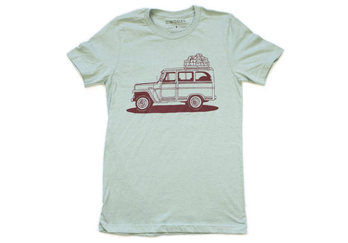 Moore Collection Moore Collection Willy Wagon Luggage Tee