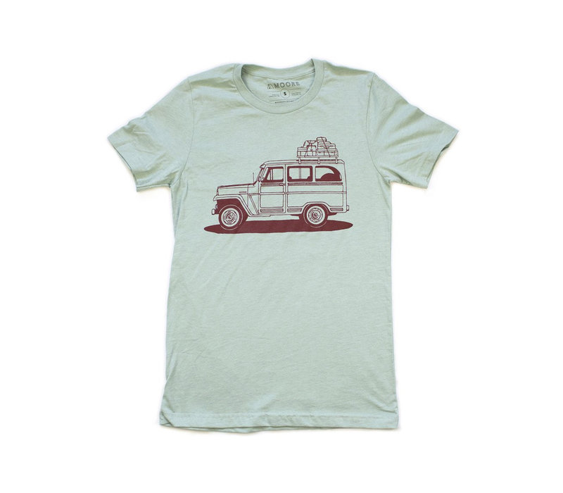 Moore Collection Willy Wagon Luggage Tee