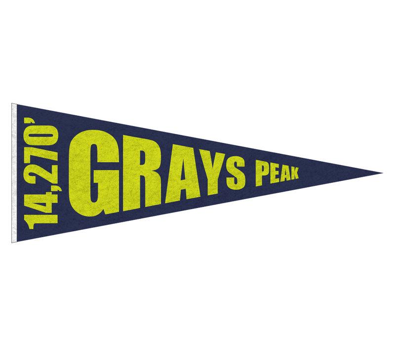 FERAL 14ers Pennant Grays Peak