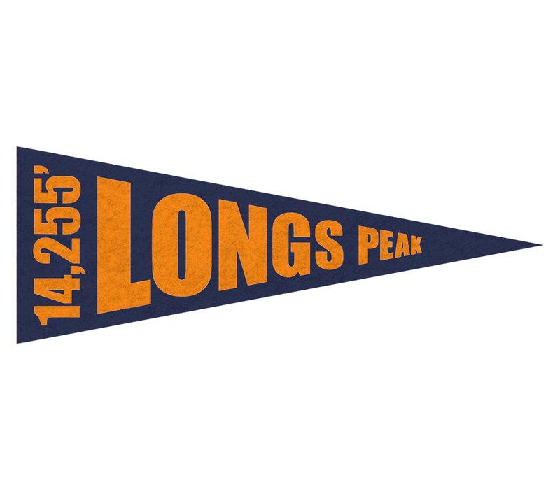 FERAL 14ers Pennant Longs Peak