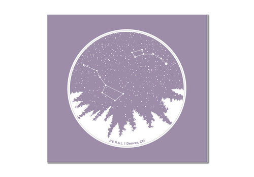 FERAL FERAL Constellation Sticker