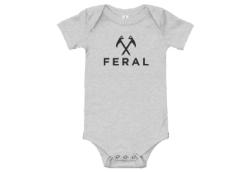 FERAL FERAL Back to Basics Onesie