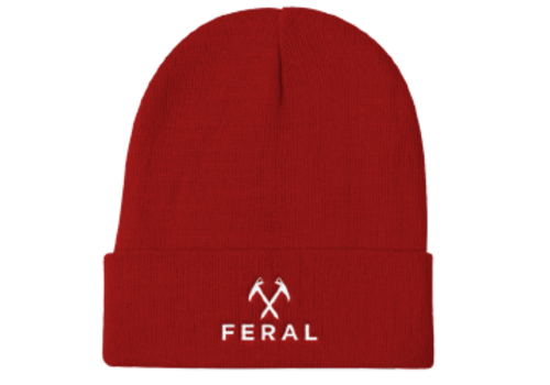 FERAL FERAL Back to Basics Knit Beanie