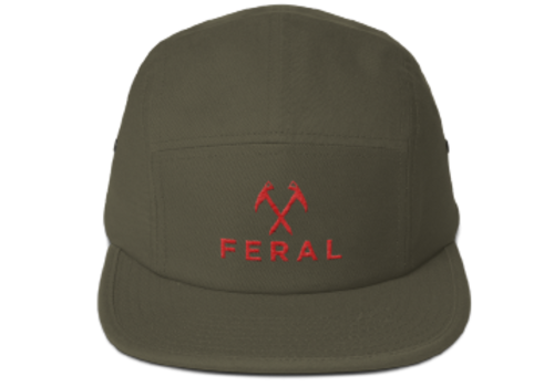 FERAL FERAL 5 Panel Military Hat