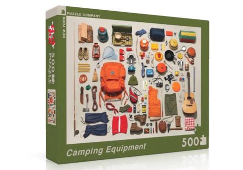 New York Puzzle Company New York Puzzle Company Camping Equipment Puzzle