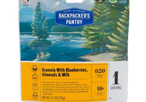 Backpacker's Pantry Backpacker's Pantry Granola With Blueberries, Almonds & Milk (1 Serving - 4.7 oz)
