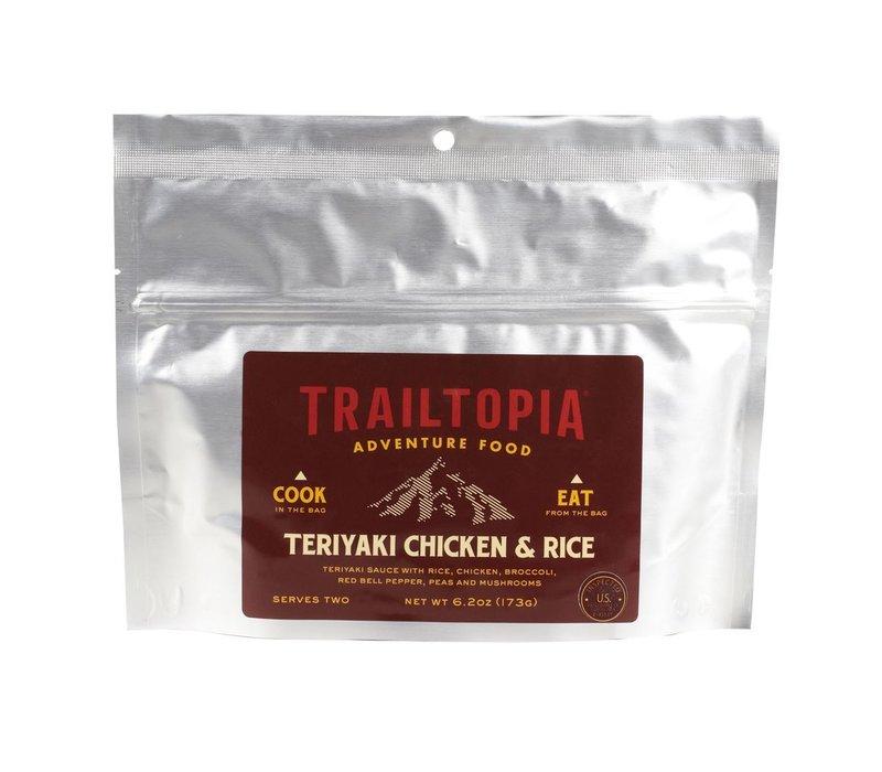 Trailtopia Teriyaki Chicken & Rice Dehydrated Food