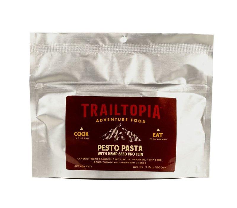 Trailtopia Pesto Pasta w' Hemp Seed Protein Dehydrated Food