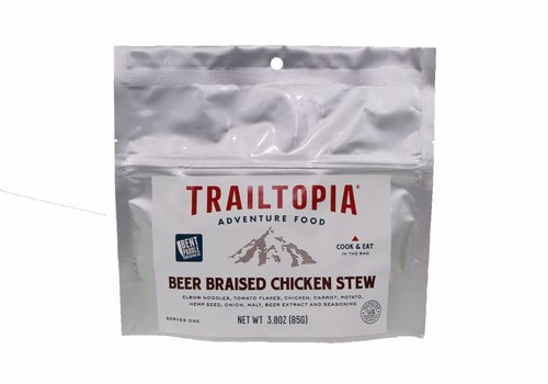 Trailtopia Trailtopia Beer Braised Chicken Stew (One Serving - 3.0oz)