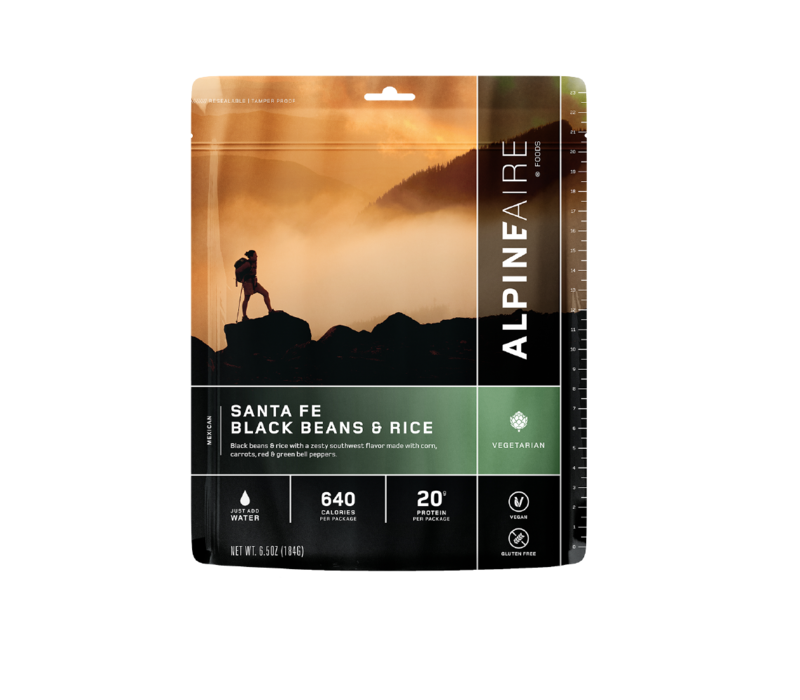 Alpine Aire Santa Fe Beans and Rice Dehydrated Food