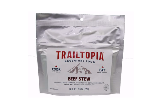 Trailtopia Trailtopia Beef Stew Dehydrated Food (1 Serving - 2.6 oz.)