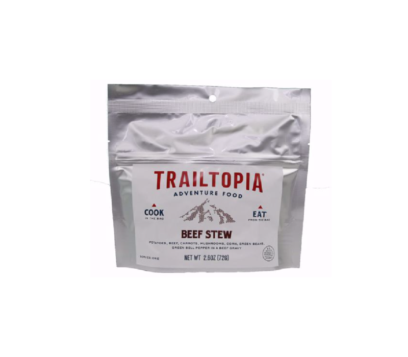 Trailtopia Beef Stew Dehydrated Food