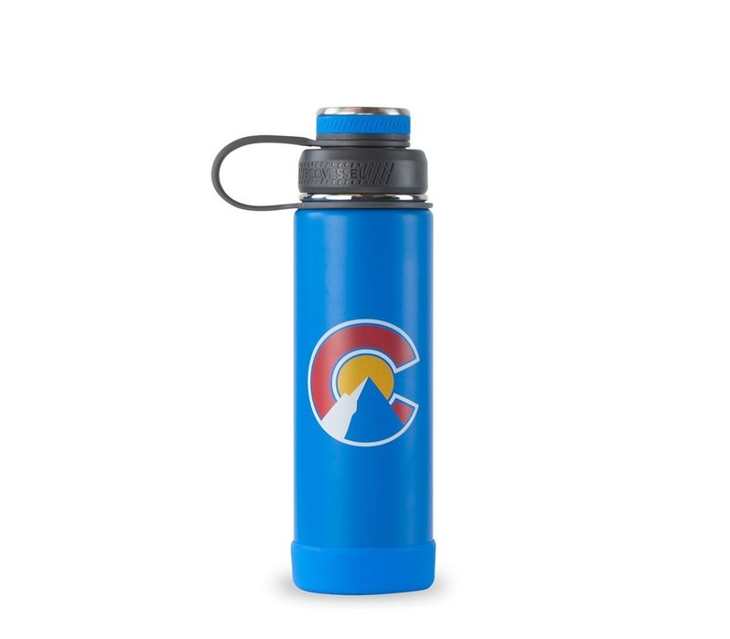 EcoVessel The Boulder 20oz Insulated Stainless Steel Bottle