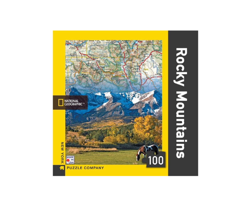 New York Puzzle Co. Rocky Mountain 100 Piece Puzzle