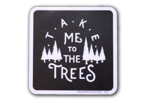 Moore Collection Moore Collection The Trees Sticker