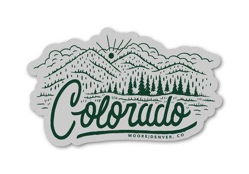 Moore Collection Moore Collection Colorado Sticker