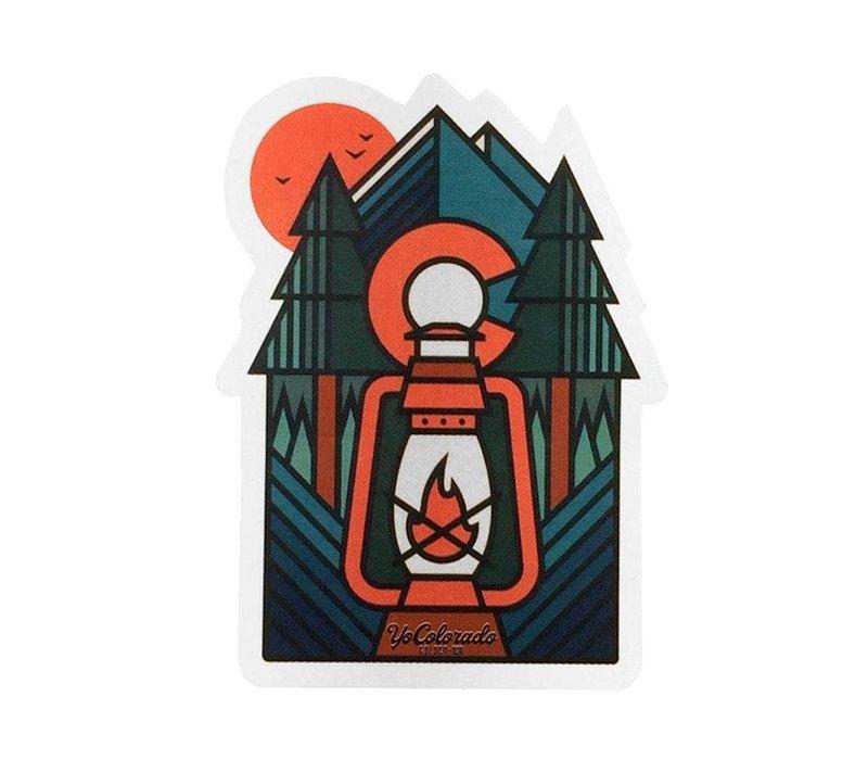 YoColorado Lantern Scene Sticker