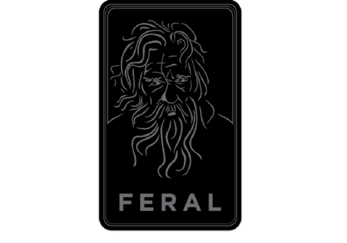 FERAL FERAL Old Man Sticker