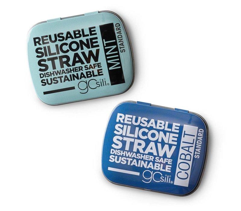 GoSili Reusable Silicon Straw 2-Pack