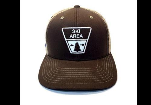 YoColorado YoColorado Ski Area Sign Colorado Trucker Hat