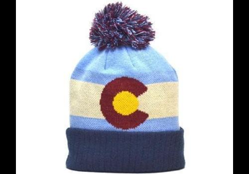 YoColorado YoColorado Vintage Colorado State Flag Beanie