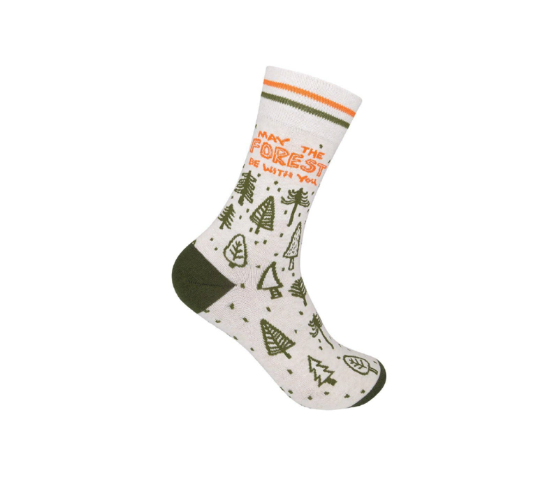 Funatic May the Forest Be With You Socks