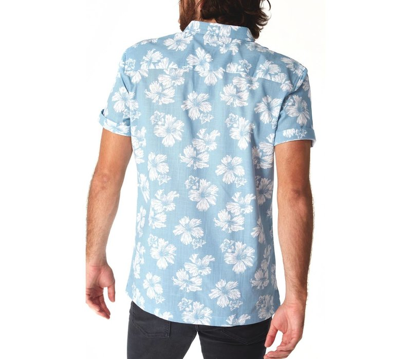 PX Men's Spencer Floral Shirt